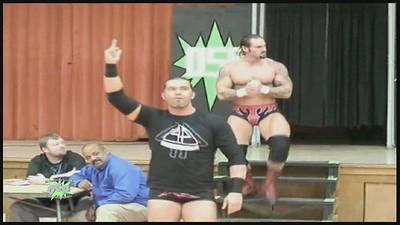 Kimo & Matt Morgan vs. Phil Shatter & Frankie Kazarian