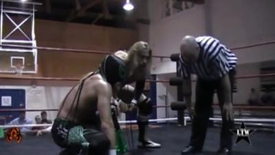 The Set (Lance Lude & J-Sinn) vs. Chris Hero & Delirious Part 1