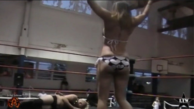 LTW (Local Town Wrestling) Bikini Contest 7/11/2009 Featuring Mia Yim - Fishersville, Virginia