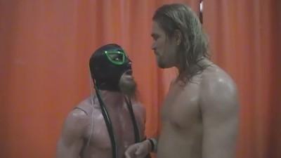 Chris Hero & Delirious LTW (Local Town Wrestling) 7/11/2009 Promo - Fishersville, Virginia