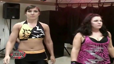 Ashley Nicely & Roxie Cotton with Mia Yim vs. Sara Del Rey & Kacee Carlisle