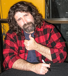 Mick Foley WWE Autograph Signing