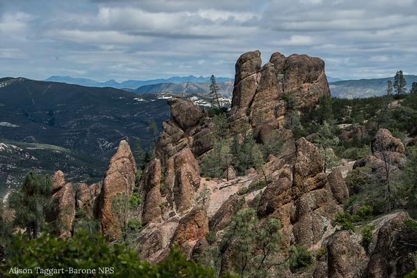 Pinnacles view