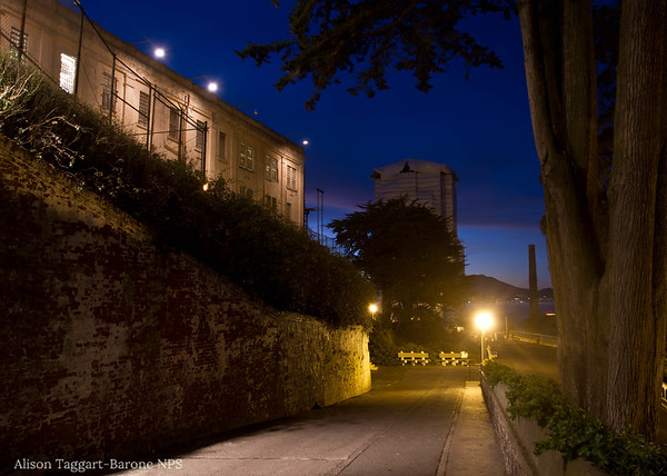 Alcatraz, evening