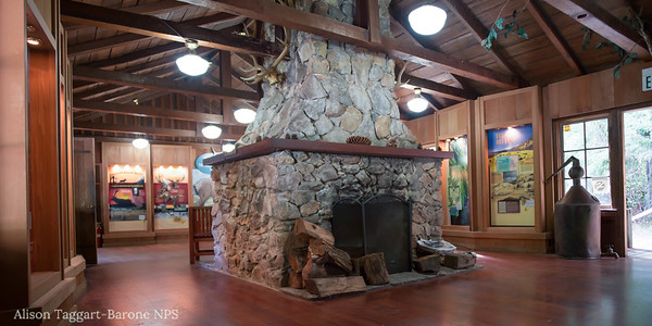 Visitor Center, Redwood National and State Park