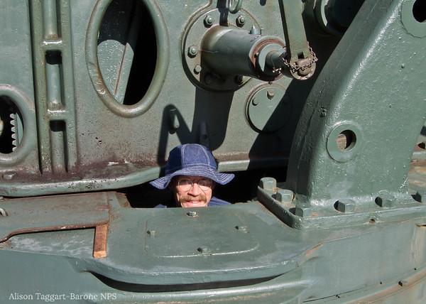 Battery Chamberlain volunteer