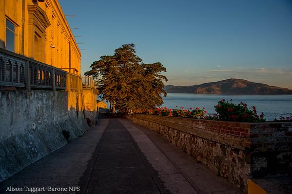 Alcatraz sunrise