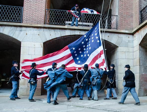 Flag, Fort Point