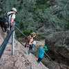 Steep trails at Pinnacles National Park