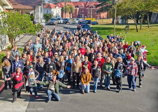 Volunteer Appreciation Party, 2011