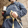 Civil war re-inactment at Fort Point