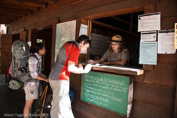 Wilderness trail permit applications at Sequoia Kings Canyon NAtional Park