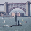 America's Cup boat from Alcatraz. Photo by Alison Taggart-Barone NPS