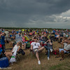 Viewing the total solar eclipse. Homestead National Monument. Photo by Alison Taggart-Barone NPS