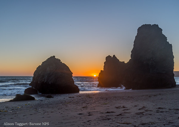 Rodeo Beach Sunset, 2014. Photo by Alison Taggart-Barone NPS