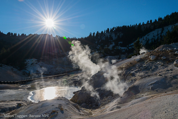 Bumpass Hell, Lassen Volcanic Park. Photo by Alison Taggart-Barone NPS
