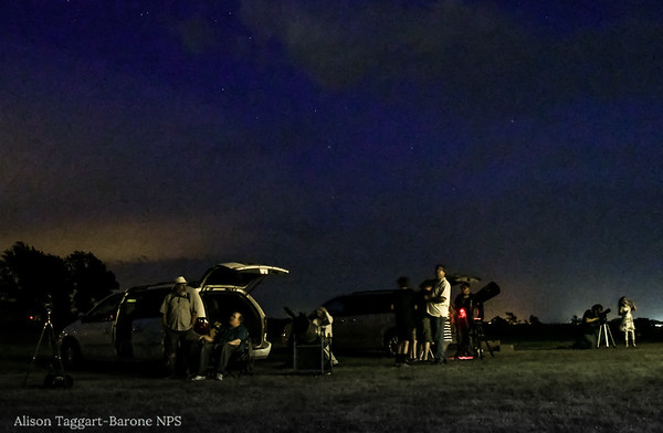 Star gazing. Homestead National Monument. Photo by Alison Taggart-Barone NPS