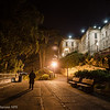 Night guard. Alcatraz at night. Photo by Alison Taggart-Barone NPS