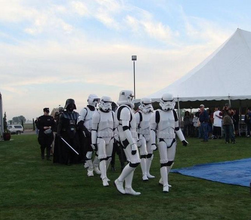 The Propane Council of Texas (ProCOT) along with its Propane Exceptional Energy Hot Air Balloon Team may have thought they entered another galaxy when they reached El Paso for the 24th Annual KLAQ EL Paso Balloon Festival and were met by storm troopers and imperial officers and oh yes, not to mention, Darth Vader.