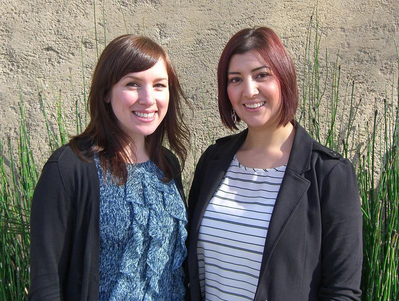 Avalon Schultz and Natalie de Leon