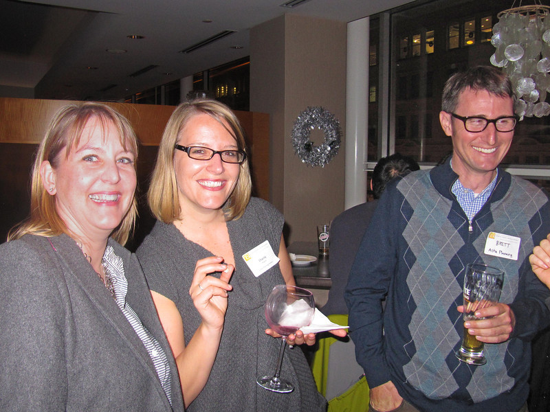 Anne Koeller, Charity Wagner, Brett Hondorp, AICP, Holiday party 2011