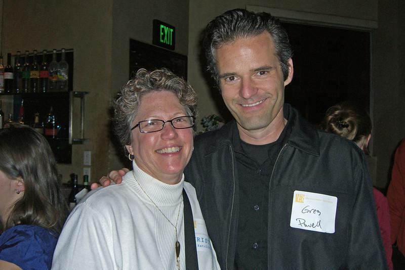 Christina Ratcliffe, Greg Powell