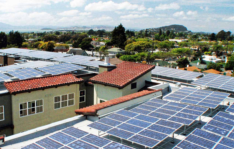 Solar on University Ave, Berkeley