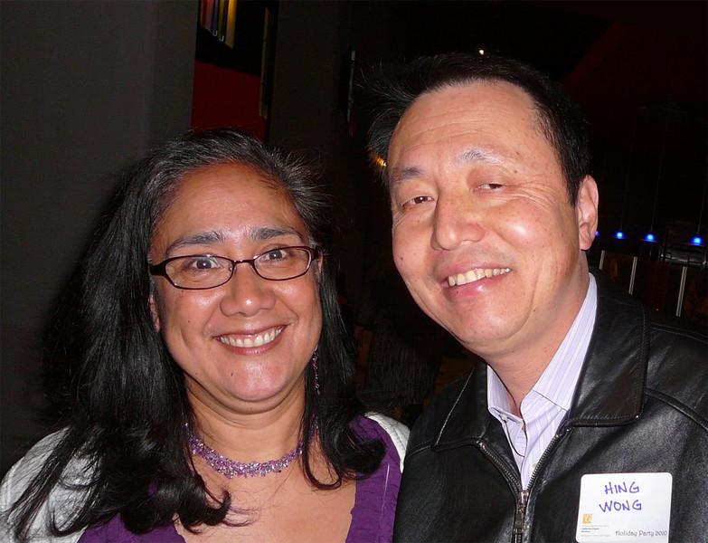 Emy Mendoza, Hing Wong