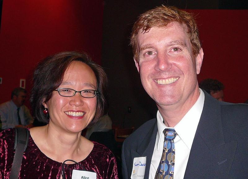 Alice Chen, Scott Davidson