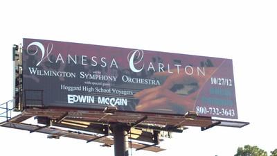 Picture of Roadside Billboard in place