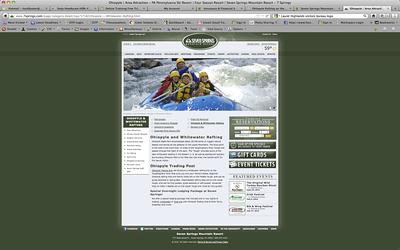 Screen shot grabbed from Website.