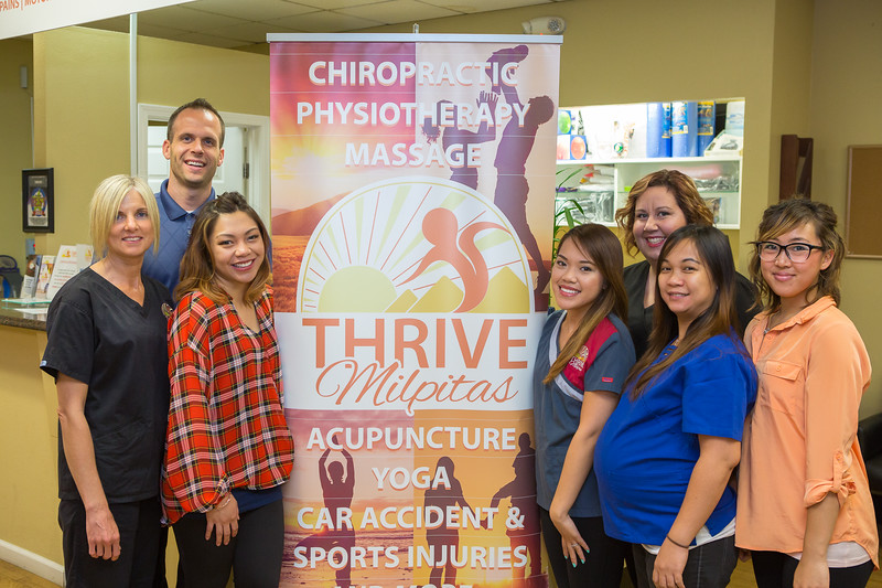 Preferred Photo for the AD: Dr. Kauffman of Thrive Milpitas Staff Shot.