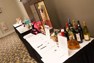 Silent Auction Booth.