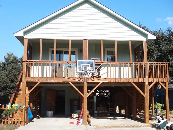 home painted/decks weatherproofed