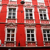 A red building in Graz, Austria
