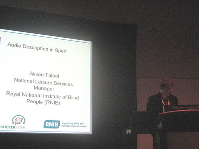 My colleague Langis Gagnon's presentation on Audio Description (Canada)