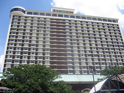 The Galt House, the ACB 2008 convention hotel, Louisville, KY
