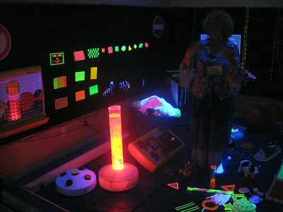 "The Institute's ""Le Sensorium,"" used by children to develop a range of sense skills"