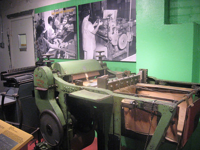 Old braille presses