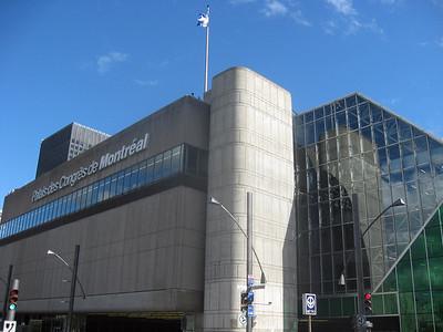 Palais des Congres--site of VISION 2008