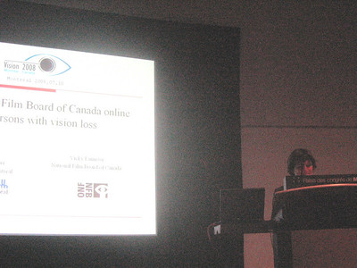 My colleague Anne Jarry's presentation on Audio Description (Canada)