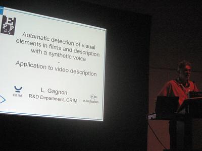 My colleague Bernd Benecke's presentation on Audio Description (Germany)