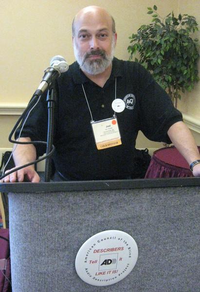 Joel Snyder, Director, ACB Audio Description Project, President, Audio Description Associates