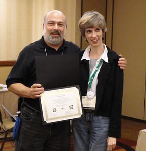 Joel with Melody Basham