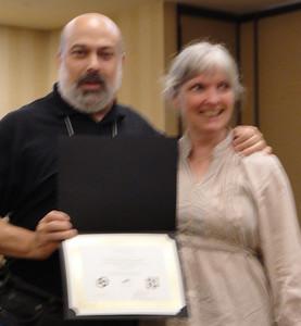 Joel with Cindy Boyle