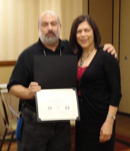 Joel with Jo Lynn Bailey-Page