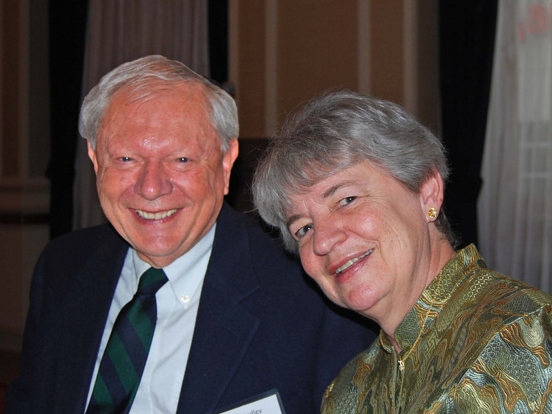 01-Special Recognition of Excellence. Dr. Donald W. Bradley, AICP, and spouse Lana Gamache-Bradley