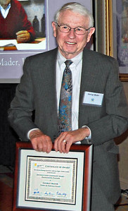 08-Distinguished Leadership Award – Leadership and Service. George G. Mader, FAICP