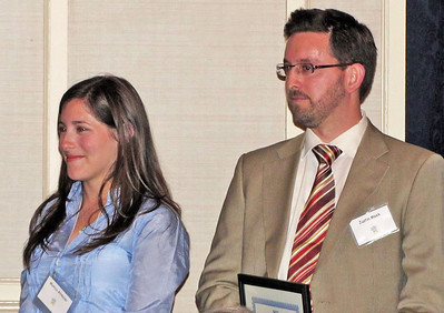 04-CPF Northern Section Awards. Monica Altmaier (UC Berkeley), Justin Meek (San Jose State University)
