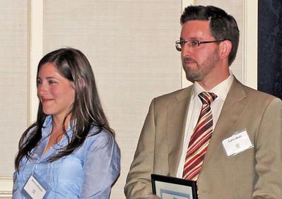 04-CPF Northern Section Awards. Monica Altmaier (UC Berkeley), Justin Meek (San Jose State University)